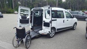 Dacia per disabili 2021