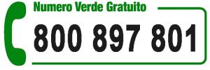 Numero verde gratuito disabili