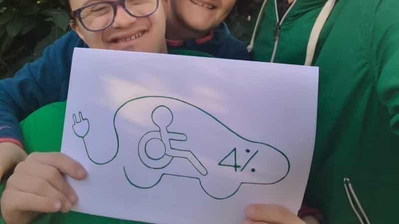 Iva al 4% per le auto disabili