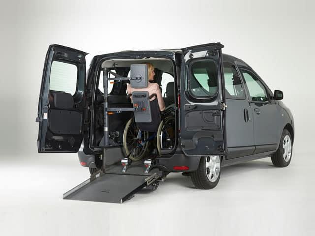 Dacia Dokekr trasporto disabili