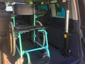 Renaul espace trasporto disabili