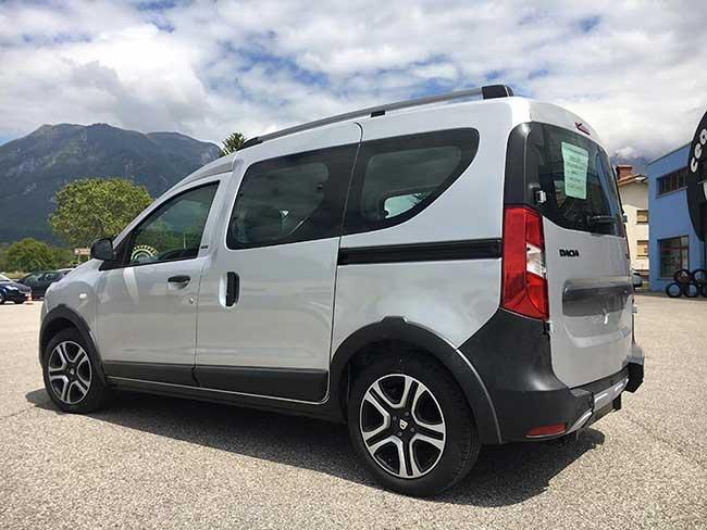 Dacia Dokker pianale ribassato
