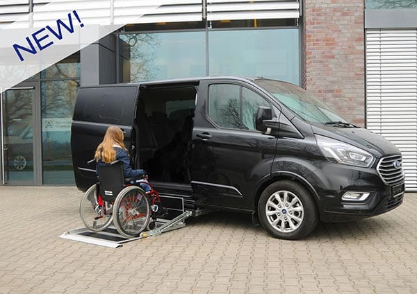 Ford Tourneo disabili k70