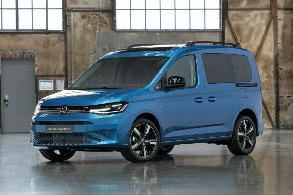 Volkswagen Caddy disabili 2021