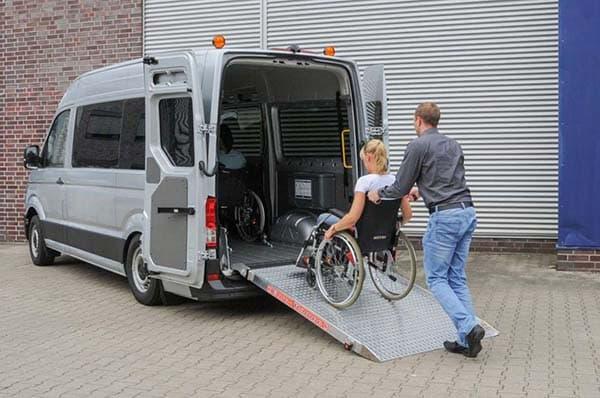 auto usata per disabili