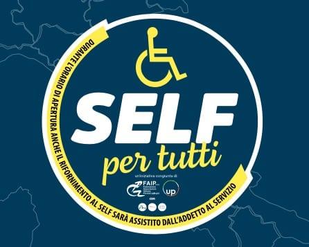 Stazioni servizio accessibili ai disabili