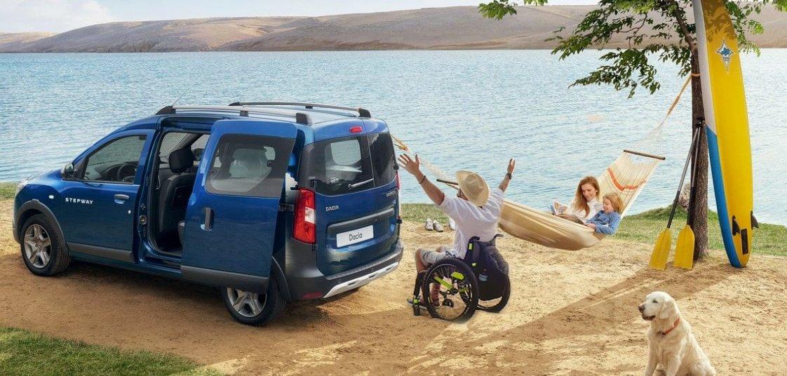Dacia Dokker per invalidi