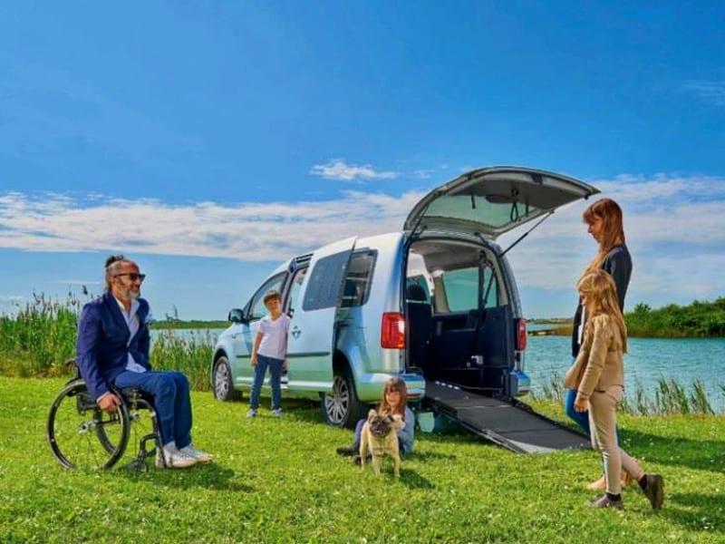 Noleggio automezzi per trasporto disabili