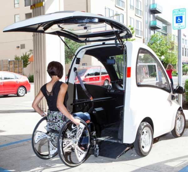 Microcar per disabili