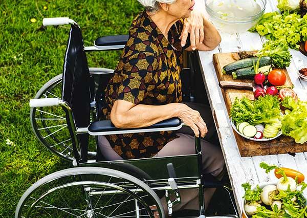 Focaccia per disabili