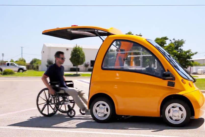 Auto per disabili senza patente