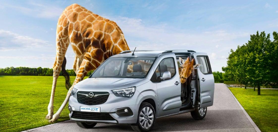 Opel Combo per invalidi