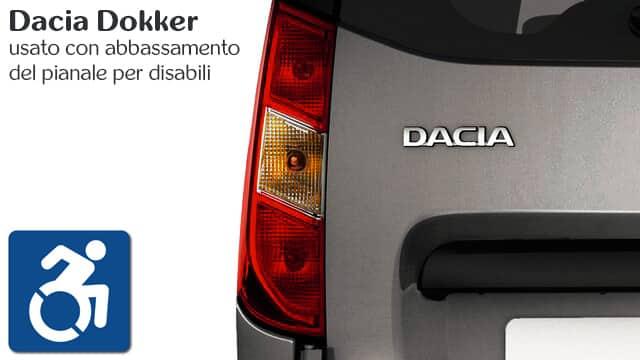 Dacia Dokker usato per invalidi