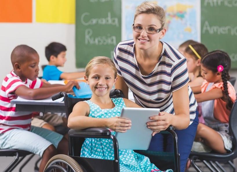 Alunni disabili Roma