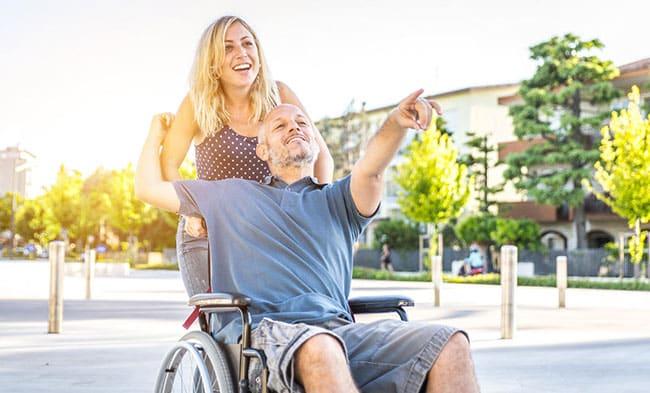 Consigli per assistere disabili in carrozzina
