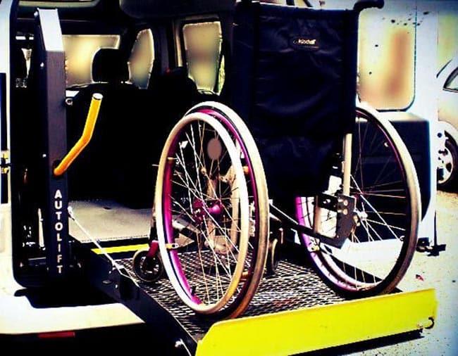 Trasporto disabili a Roma