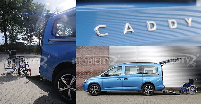 2021 disponibile il Volkswagen Caddy 5 con allestimento disabili