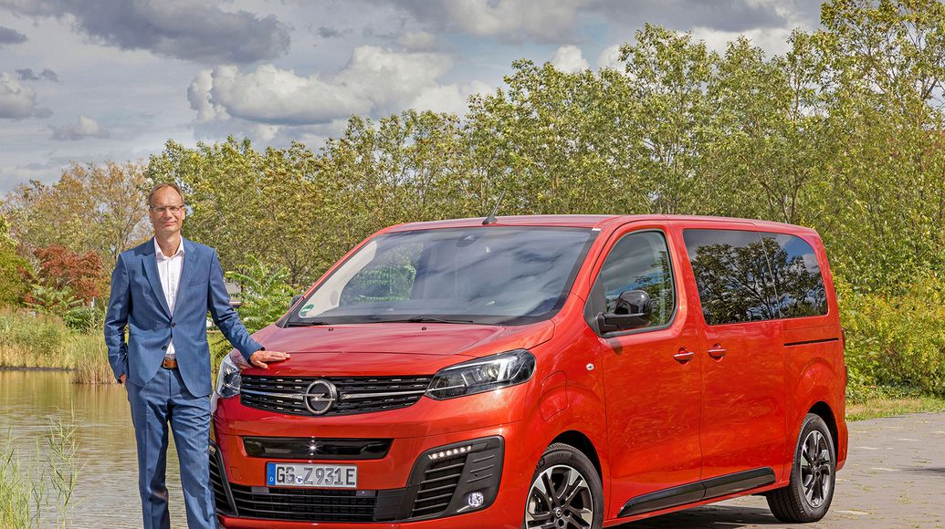 Opel Movano elettrico disabili
