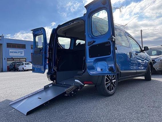 Dacia Dokker Stepway per disabili