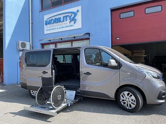 Renault trasporto disabili