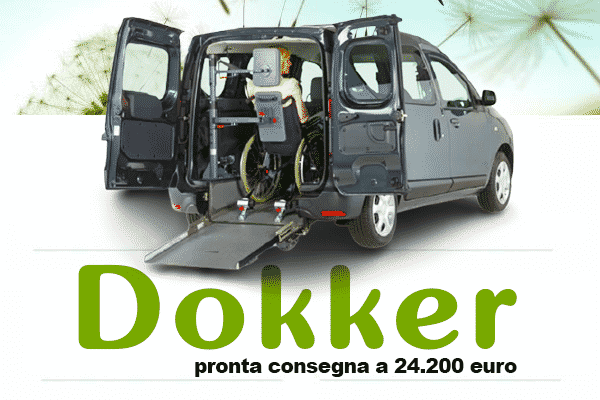 Dokker disabili pronta consegna