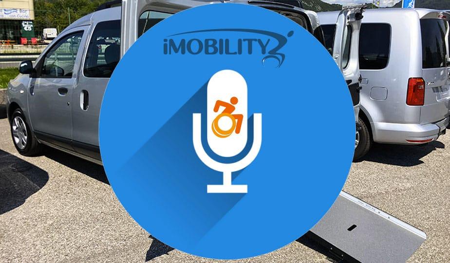 Comando vocale auto per disabili