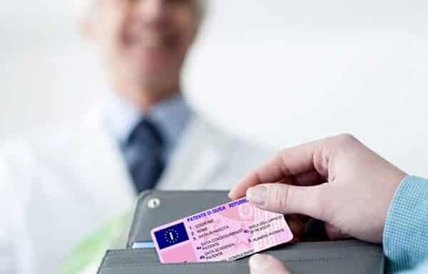 Rinnovo delle patente speciale