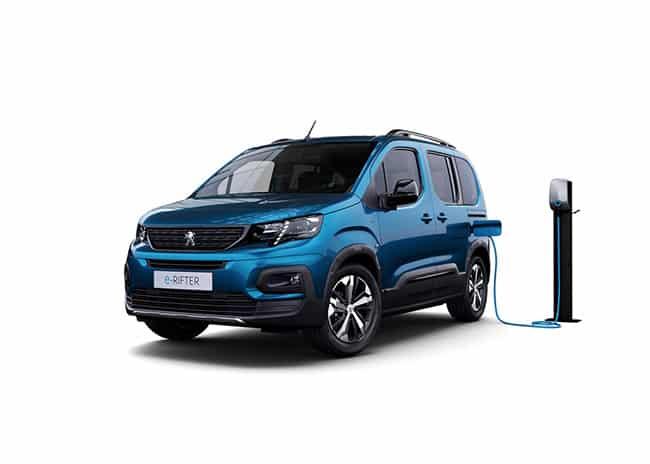 Peugeot e-Rifter 2021 disabili
